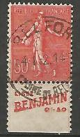 SEMEUSE  PUB BENJAMIN  N� 199 TYPE IV OBL TB