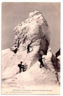 CPA CHAMONIX, Glacier Des Bossons, Séracs à La Jonction Sous Les Grands Mulets - Chamonix-Mont-Blanc