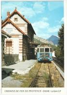 04 - DIGNE - La Gare C.P. - Chemins De Fer De Provence - JC A107 - Digne