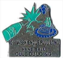 HANDBALL - H6 - CLUB DU LOING  10e WEK END LE PLUS LONG - Verso : SM - Handball