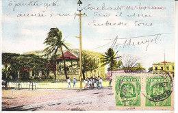 MESSICO - Leggi Testo, Animata, Viagg. 1908 - GIU-19-54 - Messico