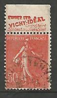SEMEUSE  PUB VICHY N� 199 TYPE IIA OBL TB
