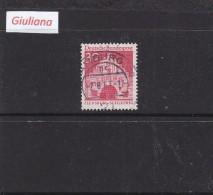 Germania 1967   - Yt 386  Used   30p.  Rouge    Ordinaria-Porta Di Brandeburgo - Gebraucht