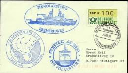 "ANTARCTIC, GERMANY "" FS.POLARSTERN"", 28.3.1991,  ANT-IX 2/3, 3 Cachets Look Scan !! Lot 12-09 - Antarktis-Expeditionen"
