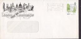 Great Britain Ersttags Brief FDC Cover 1980 London Landmarks Buckingham Palace - 1971-1980 Dezimalausgaben