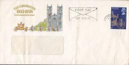 Great Britain Ersttags Brief FDC Cover 1978 25th Anniversary Coronation Queen Elizabeth II. - 1971-1980 Dezimalausgaben