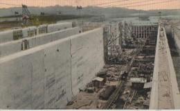 CONSTRUCTION DU CANAL (lower Gatun Lock ) - Panama