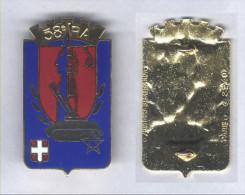 Insigne Du 58e Régiment D´Artillerie - Esercito