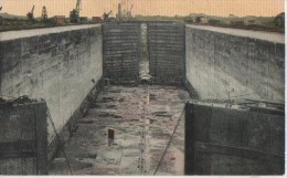 CONSTRUCTION DU CANAL (.VIEW OF THE CHAMBER OF GATUN  ) - Panama