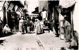 MOROCCO - CASABLANCA - UNE RUE DU NOUVEAU MELLAH RP - Casablanca