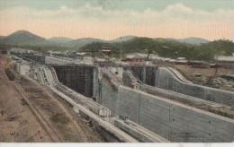CONSTRUCTION DU CANAL (.TRES BELLE VUE  ) - Panama