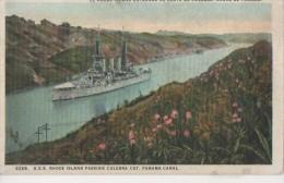 USS RHODE ISLAND ( Le Passage ) - Panama