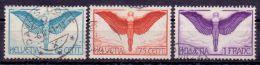 Schweiz Mi. 189y+190x+191y Gest. (€ 99,00) - Ansehen!! - Suisse