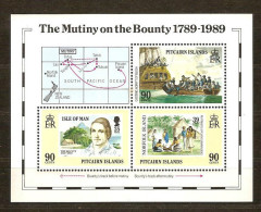 Pitcairn Islands 1989 Yvertn° Bloc 10 *** MNH Cote 10 Euro Boten Bateaux Ships The Bounty - Timbres