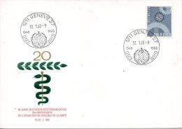 SUISSE. Enveloppe Commémorative De 1968. OMS. - OMS