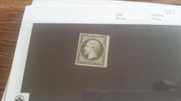 LOT 222426 TIMBRE DE FRANCE NEUF(*) N�11 VALEUR 90 EUROS
