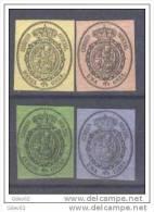 ES35-L2606TV.España.Spain   .Espagne.ESCUDO  DE ESPAÑA.1855.(Ed35/8**) Sin Charnela.MUY BONITOS - Variedades & Curiosidades