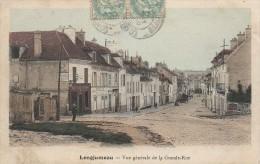 91 LONGJUMEAU  Vue Générale De La Grande Rue - Longjumeau