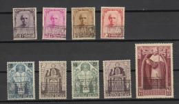 Belgie - Belgique : Ocb Nr :  374A - 374K ** MNH   (zie  Scan) BRAINE-L´ALLEUD - Unused Stamps
