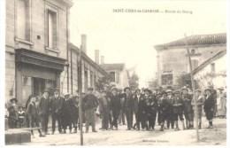 33 SAINT CIERS DE CANESSE  TRES ANIMEES - Francia