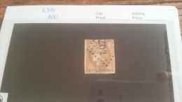 LOT 222451 TIMBRE DE FRANCE OBLITERE N�43B VALEUR 100 EUROS