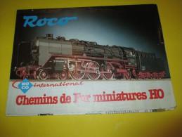 ROCO/ Chemins De Fer Miniatures HO/Roco International /Dépliant/ Version Française/Salzburg/Autriche  /1979       VOIT35 - Catalogues