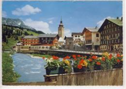 LECH Am Arlberg - M. Hotels KRONE, PFEFFERKORN ....  Riesen-Karte - Lech