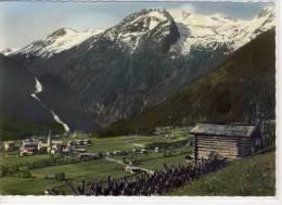 KRIMML - Panorama M. Wasserfällen Und Seekar,    Riesen Karte - Krimml