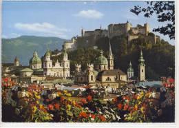 SALZBURG - Blick Auf Altstadt Und Hohensalzburg ,   Riesen-Karte  Nr. R 23 - Salzburg Stadt