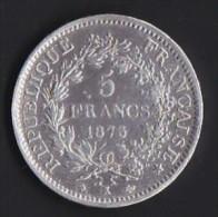 A SAISIR---5 FRANCS HERCULE 1873 K--ETAT TB//TTB ++ - France