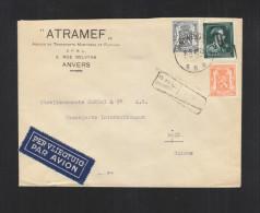 Brief Taxe Reduite Anvers 1946 (12) - Belgien