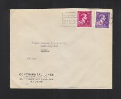 Brief Taxe Reduite Anvers 1946 (14) - Belgien