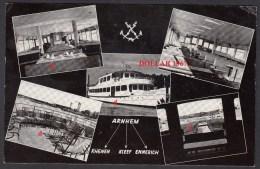"""Arnhem -Kleef -Emmerich  """"Jacqueline """" Bootdiensten 26-4-1963- Beautiful Stamp   - Used ( Originalscan !!! ) - Passagiersschepen"""