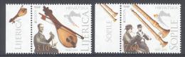CROATIA , 2014 ,MNH,EUROPA, MUSICAL INSTRUMENTS, 2v - 2014