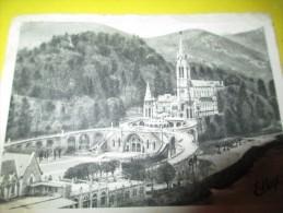 Vue D'ensemble De La Basilique De LOURDES / Pax Mundi/ Maison De Confiance/ Vers 1935  CAN177 - Religion & Esotérisme