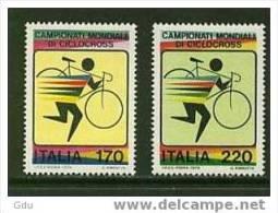 Italie 1979 (Championnat Monde Cyclocross) Yt.1375/76  Mnh*** - Ciclismo