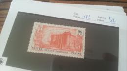 LOT 222585 TIMBRE DE COLONIE GUYANE NEUF* N�154 VALEUR 14 EUROS