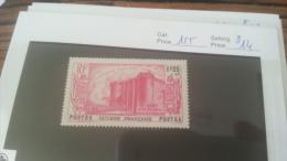 LOT 222586 TIMBRE DE COLONIE GUYANE NEUF* N�155 VALEUR 14 EUROS