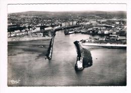 24136 ( 2 Scans ) Boulogne Sur Mer Vue Generale L'entree Du Port - Boulogne Sur Mer