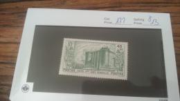 LOT 222647 TIMBRE DE COLONIE COTE SOMALIS NEUF* N�172 VALEUR 13  EUROS