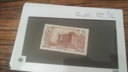 LOT 222654 TIMBRE DE COLONIE DAHOMEY NEUF* N�116 VALEUR 12 EUROS
