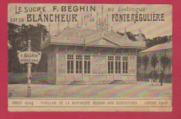 Carte Postale  //  Sucre Béghin - Advertising