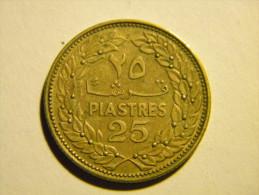 LIBAN - 25 PIASTRES 1969. - Lebanon