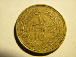 LIBAN - 10  PIASTRES 1972. - Lebanon