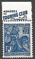 JEANNE D'ARC PUB TOURING CLUB  N� 257  NEUF** TTB
