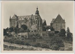 Marburg Schloss Aus Dem Burggarten Von Süden - Marburg