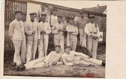 Orig.Photo Allemande- Groupe Soldats Allemand (Guerre14-18)  Lire+bas - Guerre 1914-18