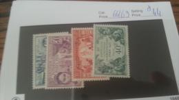 LOT 222711 TIMBRE DE COLONIE WALLIS NEUF* N�66 A 69 VALEUR 44 EUROS
