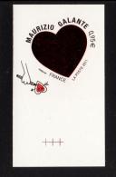 FRANCE 2011- Un Adhésif YT N° 511** Saint-Valentin Coeur De Maurizio Galante 0.95€ BDF Repère - KlebeBriefmarken