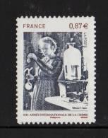 FRANCE 2011 Un Timbre (1) Autoadhésif YT N° 524** (4532) Année De La Chimie Marie Curie 0.87€ - KlebeBriefmarken